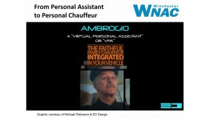 Ambrogio, Mike Robinson's vision for our future persistent assistant.