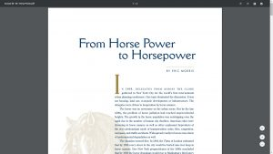 Image of the whitepaper from horse power to horsepower