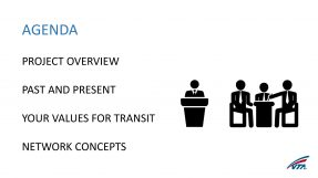 Opening slide from 04/20/16 VTA presentation on the Next Network.